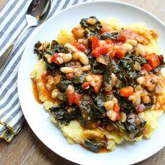 Kale and White Bean Ragout