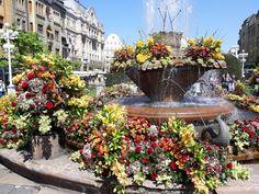 Fountain, Outdoor Decor, Travel, Home Decor, Viajes, Decoration Home, Room Decor, Water Fountains, Destinations