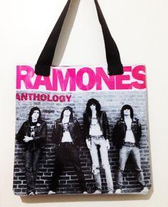 Bolsa de lona Ramones