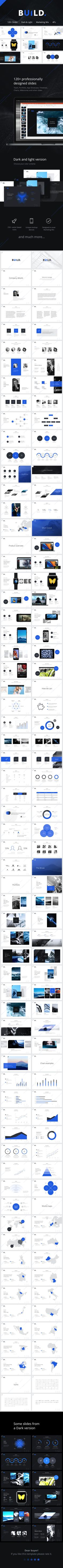 BUILD PowerPoint Presentation Template — Powerpoint PPTX #microsoft presentation #business presentation • Download ➝ https://graphicriver.net/item/build-powerpoint-presentation-template/19167639?ref=pxcr