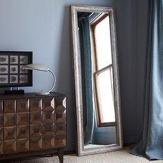 Parsons Floor Mirror - Mother of Pearl