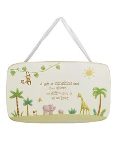 Another great find on #zulily! 'A Gift of Sunshine' Plaque by Grasslands Road #zulilyfinds