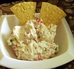 BLT Dip from Food.com:   This is a super yummy recipe I had at a Pampered Chef party.  I love it so much I had to share it with everyone.