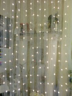 High Quality LED Light Curtain   288 Crystal LED Lights, 12 Strands, 12 Ft (WARM WHITE)  | Curtain Lights, Future House And Back Drop