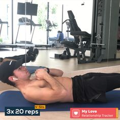 Ab Workouts At Home Discover V-sits Make sure to concentrate abs! Gym Workout Chart, Calisthenics Workout, Gym Workout Videos, Gym Workout For Beginners, Abs Workout Routines, Ab Workout At Home, Ab Workouts, Workout Fitness, Exercises