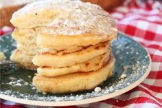 This is the best vegan pancake recipe you will ever make. To make it soy free, use soy-free vegan butter.