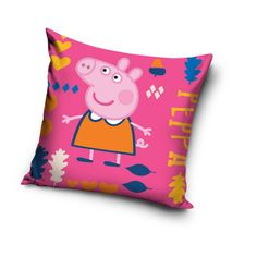 Peppa Pig pillows  #dekoriapl #childrenroom #peppa #pig #pillow #colorful #decorations #inspirations #childhood #child #funny #enjoy #baby #bed #bedding #room #bed