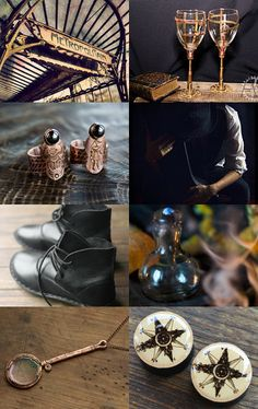 mystery in Black by Terracotta Prim on Etsy--Pinned with TreasuryPin.com