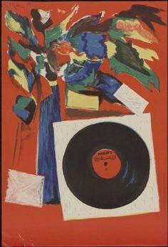 Philips Minigroove 33-1/3 by Dick Elffers (1956)