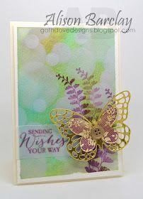 Gothdove Designs - Alison Barclay Stampin' Up! ® Australia : Stampin' Up! Australia - Color Coach Card #85 - Butterfly Basics