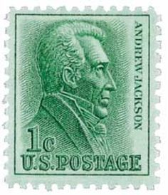 Stamp: Andrew Jackson President (United States of America) Regular Issue) Mi:US 1206 Rare Stamps, Vintage Stamps, Illinois, Stamp Values, Postage Stamp Collection, Postage Stamp Art, Andrew Jackson, Stamp Collecting, Art Sketchbook