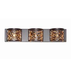 Maxim Lighting Inca Bronze-finished Metal Vanity Light