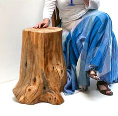 Pecan Tree Root Table by realwoodworks1 on Etsy, $585.00