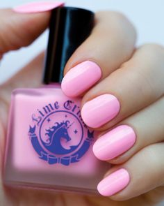Lime Crime nail polish in Parfait Day is just one of those pink polishes every girl must have. Half Barbie/half cotton candy goodness. Lime Crime polishes are also fairly long-wearing and come in some spunky shades.