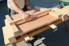Ein Hochbeet aus Terrassendielen | Projekte | Mach mal