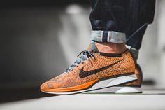 """On-Foot: Nike Flyknit Racer """"Total Orange"""" - EU Kicks: Sneaker Magazine"""