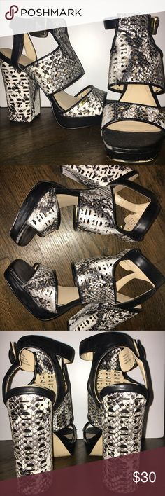 Calvin Klein Heels Size 8 Calvin Klein heels in good condition. Calvin Klein Shoes Heels