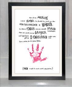 """**Der Handabdruck von beiwerk bekannt aus **""""Eltern""""** und **""""Baby, Kind und Meer""""** -..."""