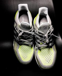 Charged up neon #adidas #ultraboost