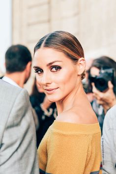 Olivia Palermo in gorgeous hair and makeup! Photo by benjaminkwan.com