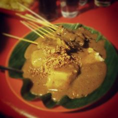 "My favorite food .. ""Sate Padang"" ..  Taste spicy .. Originally from west Sumatra-padang"