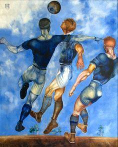 Football by Yuri Pímenov (1926).