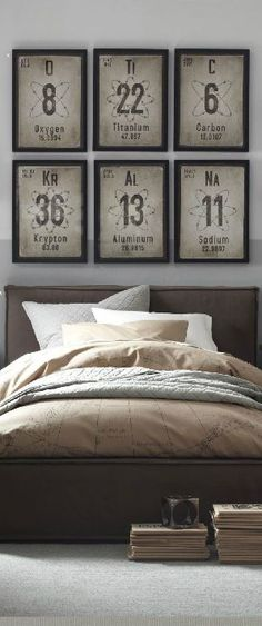 Bedroom - Industrial chic meets Breaking Bad (re-pinned photo RW Hayes)