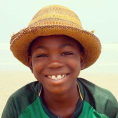 Ghana smile - Labadi Beach!