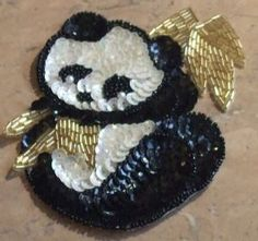 sequin panda