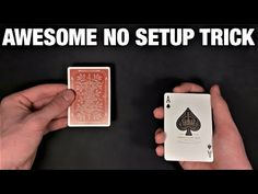 This is an ideal no setup card trick to perform all the time, especially to open your card trick routine. I definitely recommend you give this one a try. Magic Tricks Videos, Magic Card Tricks, Cool Magic Tricks, Card Tricks Revealed, Learn Magic, Illusions, Your Cards, Make It Yourself, My Favorite Things