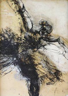 "Helena De Medeiros, ""Gold Bird (Dancers Series)"""