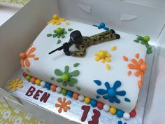 Paintball cake More