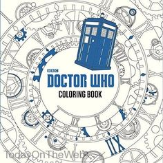 Doctor Who Coloring Book New Paperback by Price Stern Sloan