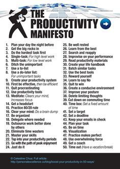 The 8 Habits of Highly Productive People | The Productivity Manifesto