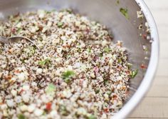 Summer Corn and Quinoa Salad with Pumpkin Seeds and Lime | Vegetarian Times