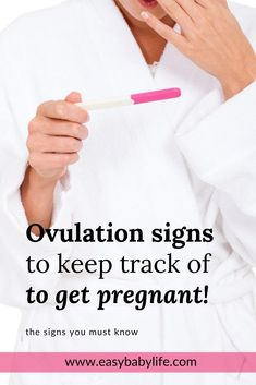 All the ovulation symptoms explained! Tracking the ovulation symptoms is so important to get pregnant. This post explains the ovulation signs for when you are trying to conceive - or not!  Signs like cervical mucus, basal body temperature, ovulatory cycle, libido and more! #ttc #pregnancy Ovulation Signs, Ovulation Symptoms, Pregnancy Checklist, Pregnancy Advice, Ovulatory Cycle, Cervical Mucus, Chances Of Getting Pregnant, Trimesters Of Pregnancy, Pregnant Diet