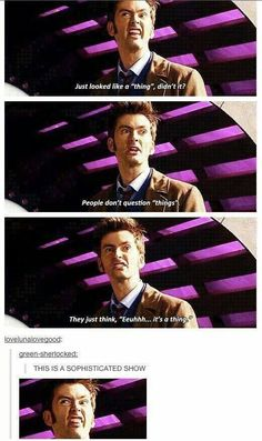 And then there's Tennant