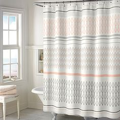 Add a soft sophisticated look to your bathroom with this 72 x 72 Norway Shower…