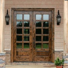 French Doors create a beautiful open feel in your home.