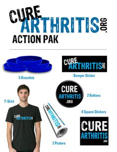 The best way to show #CureArthritis support? Grab an Action Pak today! http://www.curearthritis.org/action-pak/ #rheum #spoonie
