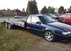 Solstad Saab 9000 Aero - 1991 Saab 9000 Aero, Tow Truck, Trucks, Flower Car, Car Mods, Custom Vans, Car In The World, Car Garage, Cars And Motorcycles