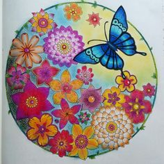 Selva Mágica de Johanna Basford magical jungle coloring book livro de colorir