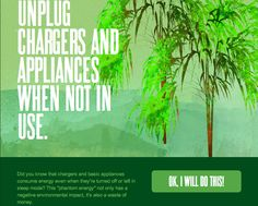 Unplug chargers and appliances when not in use. No one likes vampires! ow.ly/albdk