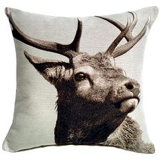 Stag cushion from Matalan