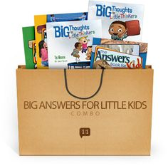 Big Answers for Little Kids Combo by Ken Ham  LOVE this set for option for our Bible Time in School next year
