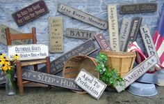country signs for home