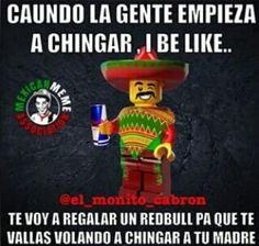 Vete a chingar tu madre. Mexican Sayings, Weird Things, Lol, Fun