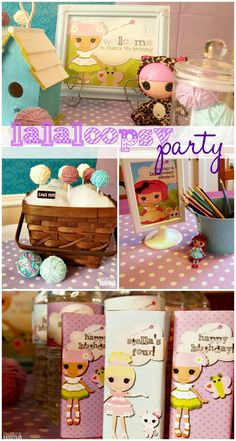 Lalaloopsy Birthday Party on a Budget - Becoming Martha