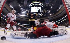 goal cam #hockey #carolinahurricans #bostonbruins