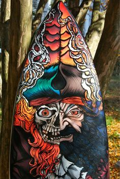 This is amazing! I wanna hang this in my son's room Surfboard Art, Skateboard Art, Drawing Art, Art Drawings, Tenacious D, Custom Surfboards, Surface Art, Posca Art, Surf Boards